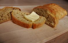Homebaked bread with butter, delicious!, check it out on my FB page or on my english food blog! more pictures, and more recipes! FB: https://www.facebook.com/pages/One-Kitchen-A-Thousand-Ideas/499718310063452 my english blog http://onekitchen.blogspot.dk/ Thank you!