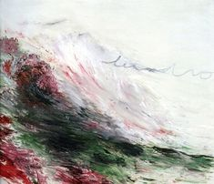 Cy Twombly, an important experimental painter, died yesterday, aged 83