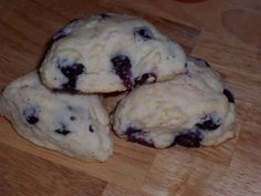 Fresh Blueberry Scones are a great in season breakfast dish