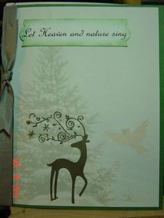 QFTD135 ~ Claudia's First by Redbugdriver - Cards and Paper Crafts at Splitcoaststampers