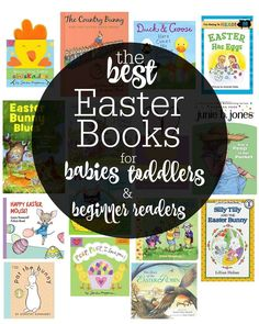 An excellent reading list for all ages! The best children's books for #Easter!