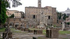 Ancient Rome   Basilica Julia. Rome, Roman Forum.