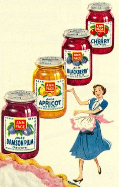 Vintage Ann Page Jams Advertisement