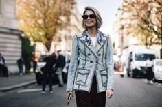 Paris Fashion Week Street Style Spring 2018 Day 5 Cont. - The Impression