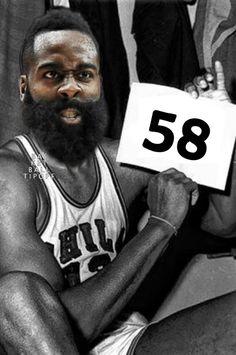 f1f534a2c24 James Harden Goes full Blake Mamba! 45mins 16-34fg 5-19three points 21