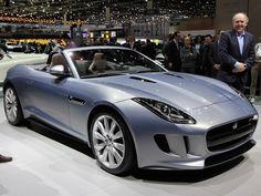 Jaguar F-Type Concept: Le salon de Genève 2013 fait la part belle aux voitures de luxe.