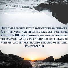 Psalm 42:7-8