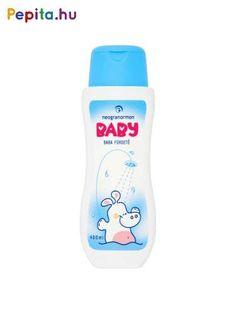 A Neogranormon Baby fürdető kíméletesen tisztítja a babád bőrét és hatóanyagai a bőr természetes védőrétegét épségben hagyják. Dús habképződés mellett a fürdővizet enyhén illatosítja és melegen tartja.     Jellemzői:  - Újszülött kortól használható  - Nem szárít  - Természetes összetevők  - Ásványi olaj mentes  - Állati eredetű anyag mentes  - Parabénmentes  - Nem allergizál  - Kiszerelés: 400ml    A termékben alkalmazott parfümolaj allergén összetevő mentes (a hatályos kozmetikai rendelet… Water Bottle, Drinks, Products, Drinking, Beverages, Water Bottles, Drink, Gadget, Beverage