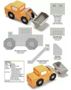 Trucks and Semi-trailer