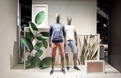 "Esprit frames spring / summer windows 2017 by germany "" retail design Display Design, Store Design, Visual Merchandising, Boutique New York, Retail Windows, Shop Windows, Shop House Plans, Bath And Beyond Coupon, Summer Design"