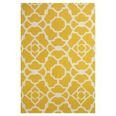 Perfect Yellow rug and great price