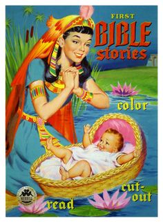 First Bible Stories (by paul.malon)  1954 illustration by William Randall