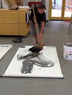"Fu, ""Lion"" brush - Lauris Phillips"
