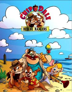 Chip and Dales Rescue Rangers. Whatever happened to the after school lineup of cartoons??? Those were the days.