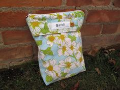 You can make this from one fat quarter and 1/4 yard of PUL.  The Mary Frances Project: Wet Bag Tutorial