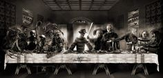 Which one's Judas? VOTE YOUR favorite! The Last Supper by Mace696.