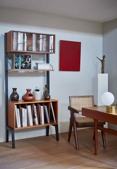43 Incredible Home Office Cabinet Design Ideas For You Office Cabinet Design, Home Office Cabinets, Home Office Design, Home Office Decor, Home Decor, Office Designs, Condo Interior, Best Interior, Contemporary Interior