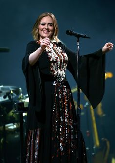 Want to see Adele perform live on her tour? Join the Madison Square Garden Fan Group and Waiting Lists to attend the concert on September Boho Festival, Festival Wear, All Fashion, Fashion Prints, Adele Grammys, Adele Pictures, Adele Music, Adele Adkins, Good Music