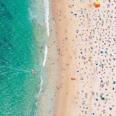 Gray Malin - À la Plage, Coogee Beach Aerial Photography, Beach Photography, Photography Tips, Scenic Photography, Digital Photography, Landscape Photography, Coogee Beach, Inspiration Artistique, Sydney Beaches