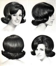 1960s flip....from all views....perfectly coifed!