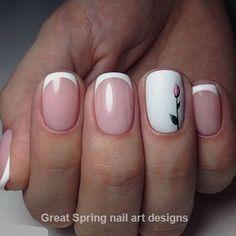 20 Great Spring Nail Designs 2019 Diva Nails, Toe Nail Designs, Toe Nails, Beauty Care, Finger, Pink Nails, Classy Nails, Nails, Fingernail Designs
