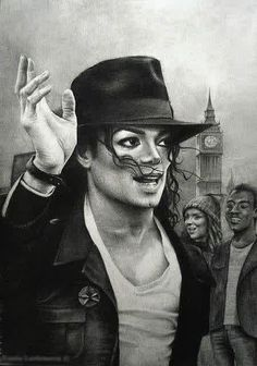 Image via We Heart It https://weheartit.com/entry/144843166 #art #drawing #jackson #london #michael