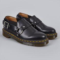 Comme des Garcons x Dr.Martens Harness Shoe - Black