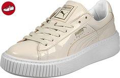 8694186f64ced Puma Basket Platform Patent Sneaker Damen 8.5 UK - 42.5 EU - Puma schuhe (