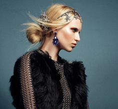 New Work! It's all about hair jewelry! - Nam Vo