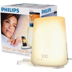 Philips HF3490 Wake-up Light Alarm with iPod Dock...makes waking up so much easier