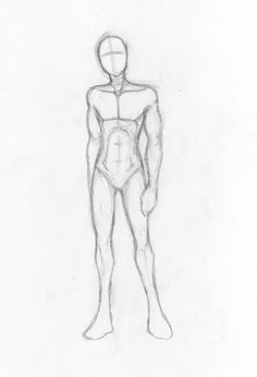 Here's a figure study for the male body because some of you requested it. I hope it helps! No, I don't draw genitalia. Ever. For anyone. Or anything. By the way, if you want to use this s...