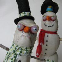 http://mealymonsterland.squarespace.com/ - Sculpture Gallery 2011 - snowmen
