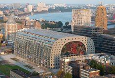 Die Neue Markt Hall in Rotterdam würde mich sehr interessieren... Danach eine Hafentour...Größter Hafen Europas...