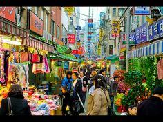 street market in Busan
