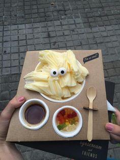 Eyescream ice cream in barcelona!