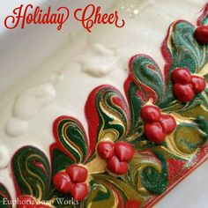 Holiday Cheer Silk Soap By Euphoria Soap Works