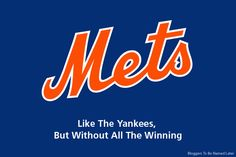 New slogan for the New York Mets