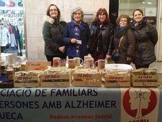 La Penya Poc a Poc recapta a 'la nadalenca' 766'71€ per a l'Associació de Familiars de Persones amb Alzhéimer de Sueca
