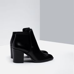 WIDE HEEL ANKLE BOOT - Shoes and bags - Woman - NEW IN   ZARA Georgia