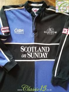 Relive Glasgow's 2003/2004 season with this original Cotton Traders home rugby shirt.