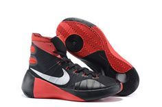 ea74e524f5f Buy Newest Nike Hyperdunks 2015 TB All Star Shoes Black Red White Mens  Basketball Sneakers High Top Cheap Sale Discount from Reliable Newest Nike  Hyperdunks ...