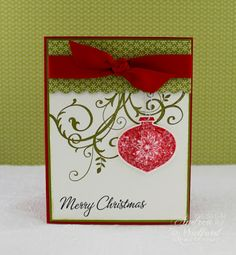 Handmade Christmas Cards : Let's Celebrate!