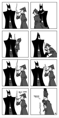 Sherlock meets Batman