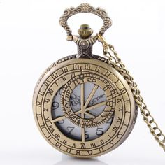 """Celebrate the world'sfavoritespace-and-time-travellingadventurer with this Adorable Doctor Who Pocket Watch Necklace. This pocket watch jewelryis an ideal gift or addition to your own Doctor Whocollection.  Product Details:Metal Type: Stainless SteelLength of Chain: About 80 cm  Brand New - Exactly As Picture Shows.  CLICK THE """"GREEN BUTTON"""" NOW TOSECURE YOURS!"""