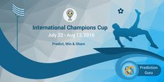 #InternationalChampionsCup is ready for you to Predict it. What you waiting now? Download @