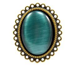 Inel Emerald Green