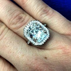 A beautiful diamond engagement ring for a beautiful couple