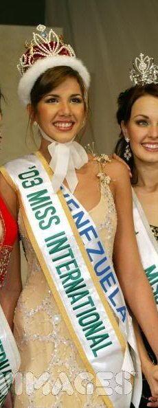 Miss Beleza Internacional 2003 - Goizeder Victoria Azua Barrios - Venezuela