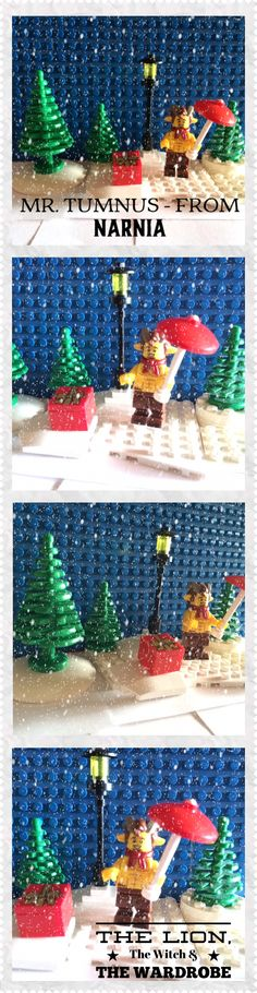Lego Mr. Tumnus -from Narnia  The Lion, The Witch & The Wardrobe by C. S. Lewis