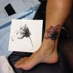 It's a cover up! And, a rad x-Ray flower! I'm pretty sure this is it
